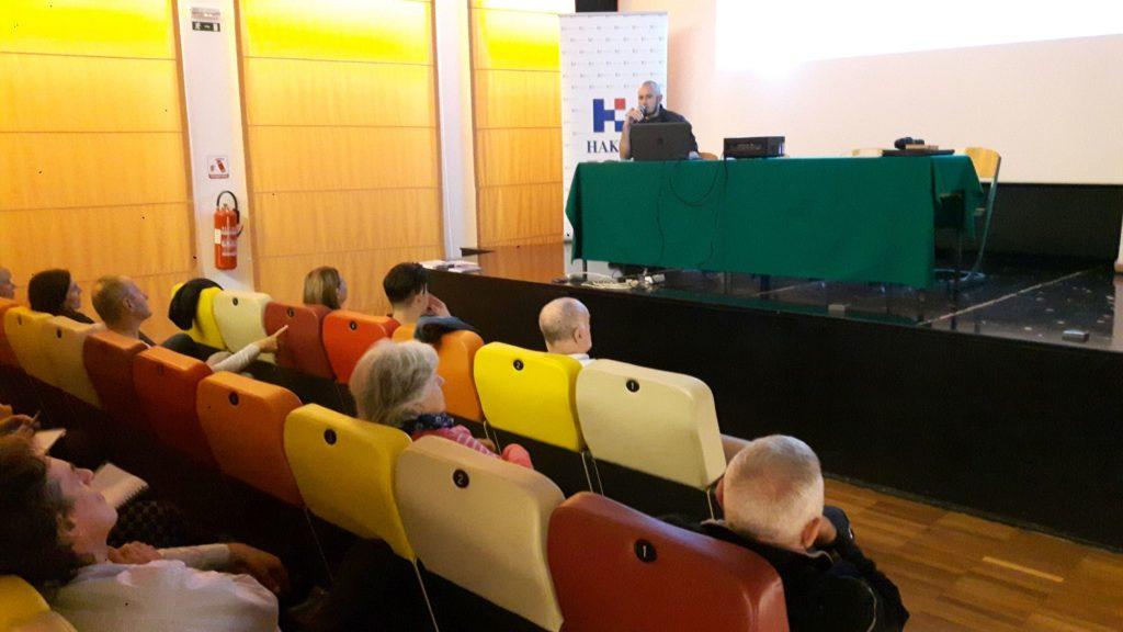 Denis Periša na konferenciji